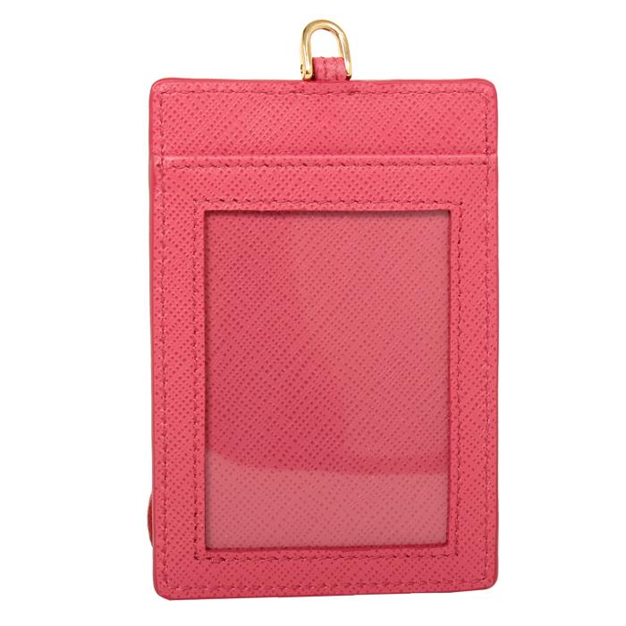 프라다(PRADA) 카드케이스 1MC007 QWA F0505 PEONIA / 여성 카드지갑